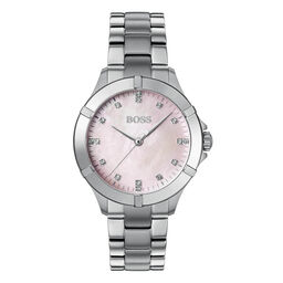 BOSS Ladies Mini Sport Stainless Steel Watch