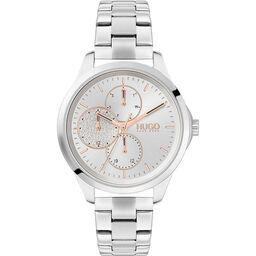 HUGO Ladies #Fearless Stainless Steel Watch