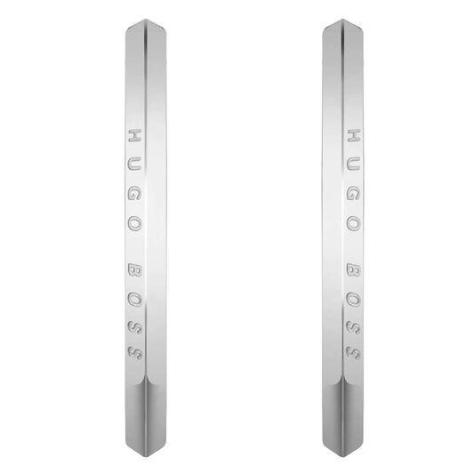 BOSS Ladies Insignia Stainless Steel Earrings
