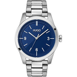 HUGO Men's #CREATE Stainless Steel Watch