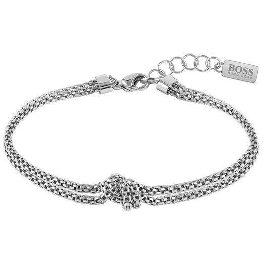 BOSS Ladies Rosette Stainless Steel Bracelet