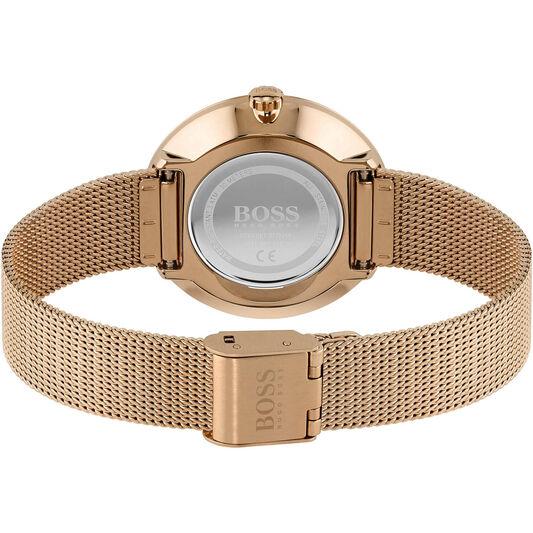 BOSS LadiesPraiseCarnation Gold Watch
