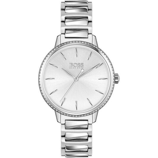 BOSS Ladies Signature Stainless Steel Watch