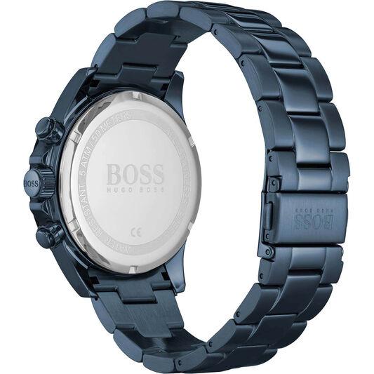 BOSS Men's Hero Blue Plated Watch