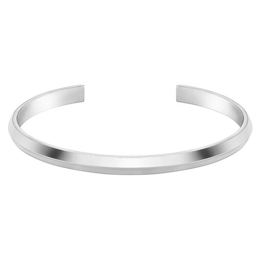 BOSS Ladies Insignia Stainless Steel Bangle