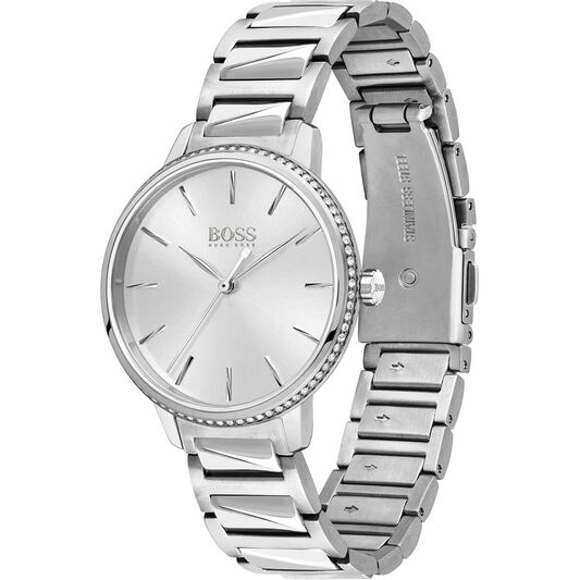 BOSS Ladies Signature Stainless Steel Watch