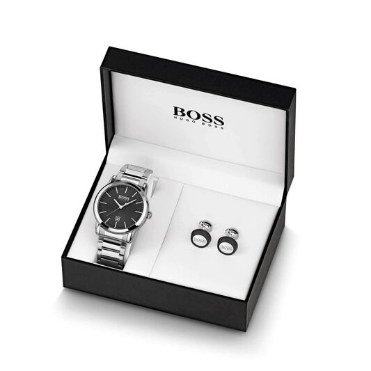 BOSS Men's Classic 1 Stainless Steel Gift Set