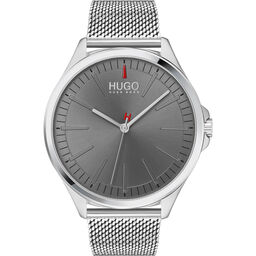 HUGO Men's #Smash Stainless Steel Watch