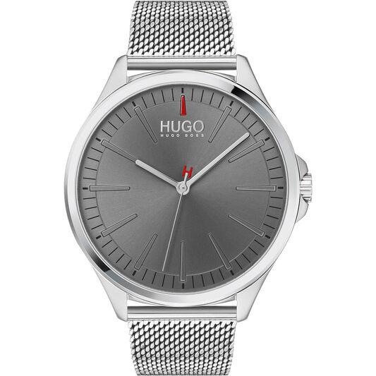 HUGO Men's #Smash Stainless Steel Watch