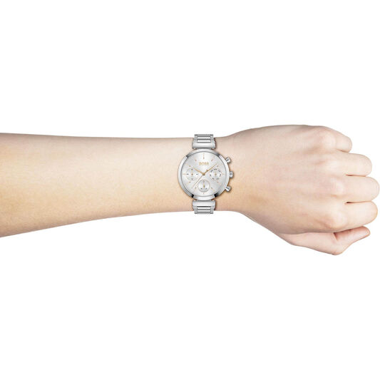 BOSS Ladies Flawless Stainless Steel Watch