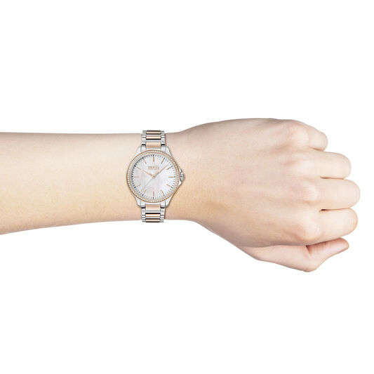 BOSS Ladies Diamonds For Her Two Tone Stainless Steel Watch
