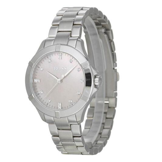 BOSS Ladies Mini Sport Stainless Steel Watch