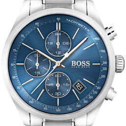 BOSS Men's Grand Prix Stainless Steel Watch