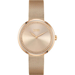 BOSS Ladies Praise Carnation Gold Watch