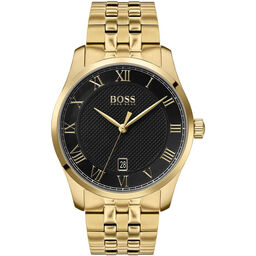 BOSS Men's Master Gold Plated Watch