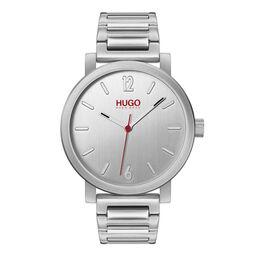 HUGO Men's #RASE Stainless Steel Watch