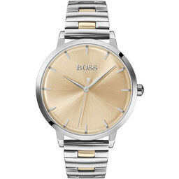 BOSS Ladies Marina Two Tone Stainless Steel Watch