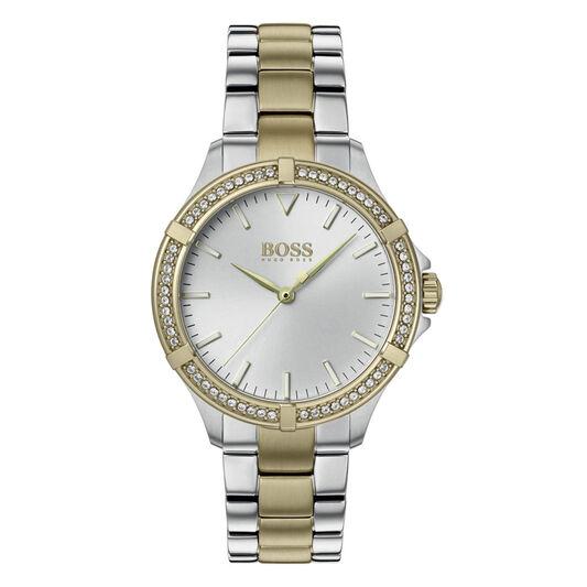BOSS Ladies Mini Sport Two Tone Stainless Steel Watch