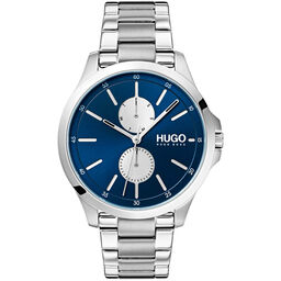 HUGO Men's #JUMP Stainless Steel Watch