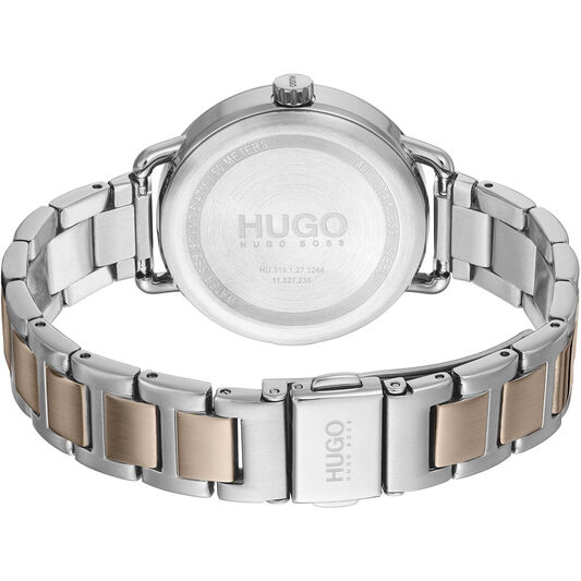 HUGO Ladies #Mellow Two Tone Stainless Steel Watch