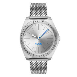 HUGO Men's #ACT Stainless Steel Watch