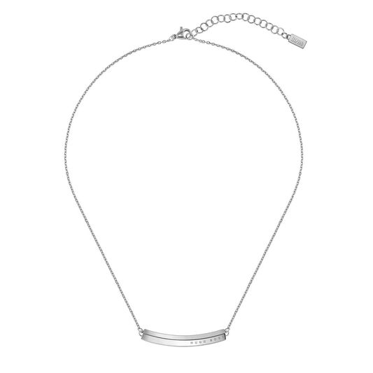BOSS Ladies Insignia Stainless Steel Necklace