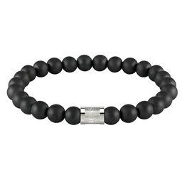 BOSS Men's Beads For Him Onyx Bracelet