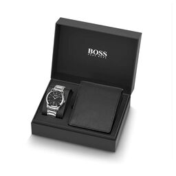 BOSS Men's Classic 1 Stainless Steel Gift Set